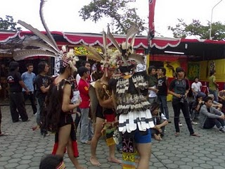 Keindahan alam Gunung Tiong kandang Di kecamatan Batang Tarang Kalbar